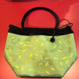 Little green and black bag